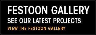 Festoon Gallery. See our latest projects. View the festoon gallery.