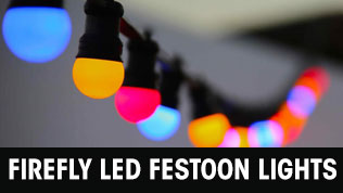 Firefly LED Festoon Lights